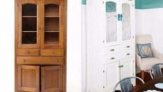 peindre ancien meuble en blanc déco maison