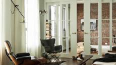 porte intérieure massive bois