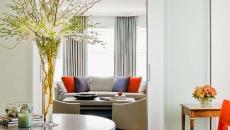 porte d'intérieur design en verre maison