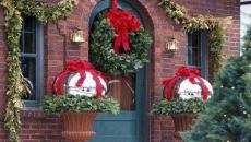 idées pour décorer l'extérieur de la maison Noël