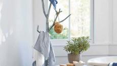 déco moderne portemanteau créatif arbre