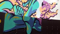 projet dessin graffitis anamorphique design intérieur 3D