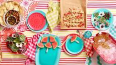 table de repas saveur d'été invitation à la fête