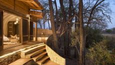 extérieur jacuzzi suite luxe safari afrique