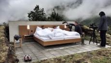 suite luxe hôtel insolite alpes vacances tourisme