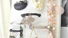 rangement à faire soi-même bijoux présentoir