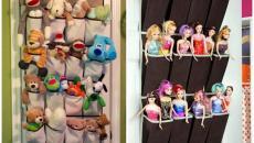 rangements portes collections jouets