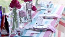recevoir amis jardin dresser sa table