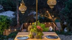 outdoor living diners en plein air