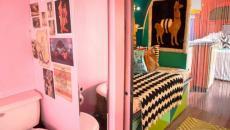 toilettes refaites déco dans une caravane américaine Airstream