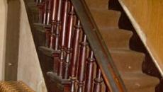 escalier entrée avant travaux
