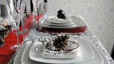 accessoires déco table de Noël