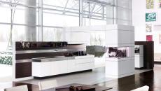 belle cuisine de luxe grande spacieuse lumineuse
