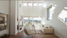 intérieur design en blanc