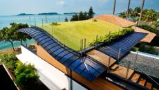 maison durable écoresponsable avec vue sur la mer