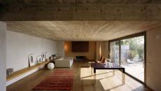 ameublement minimaliste sobre intérieur maison de vacances