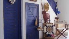 intérieur décoré dans l'esprit marin