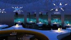 Salle restaurant original sous-marin Subsix