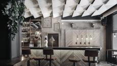 monochromatique design moderne restaurant design