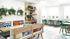 aménagement et ameublement restaurant sympa à Oslo