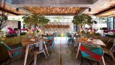 intérieur design original accueillant restaurant