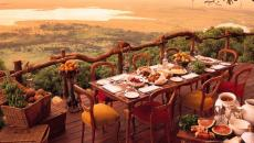 restaurant original cratère tanzanie