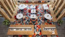 café moderne design intérieur branché jeune
