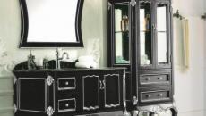 miroir design classique classe salle de bains