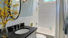 rideau classique salle de bains
