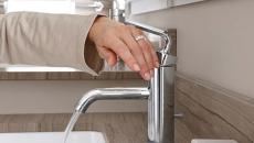 robinet simple à utiliser salle de bain aménagement