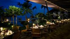 terrasse restaurant vacances romantiques Thaïlande