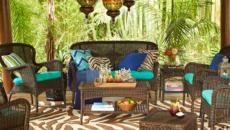 salon de jardin accessoires coussins outdoor