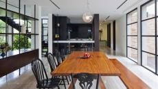 salle à manger maison de ville totalement rénovée