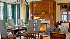 salle à manger maison rustique élégante campagne vacances