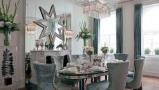 salle à manger chaises en velours confortables