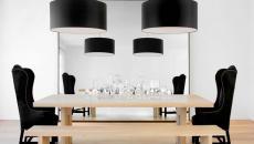 design intérieur minimaliste en noir blanc
