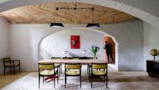 ambiance rustique industriel et rétro design appartement
