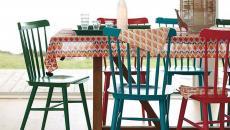 rustique ameublement design chaises dépareillées
