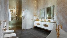 salle de bains moderne et luxueuse