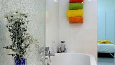 belle salle de bains déco couleurs