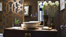 design luxe salle de bains dorée