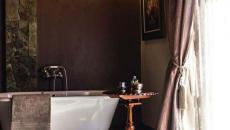 classe et luxe salle de bains moderne