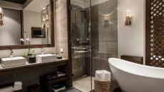 salle de bains de luxe nizuc resort cancun hôtel