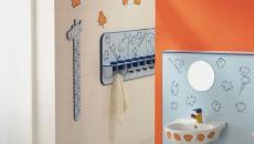 design sympa salle de bain gamin