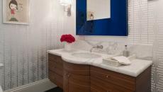 encadrement design miroir salle de bains