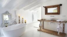 superbe salle de bains rustique art