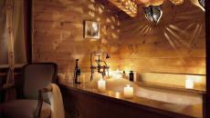 salle de bain déco rustique design brut