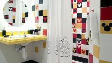 décoration salle de bain disney