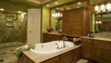 déco rustique aménagement en bois salle de bain