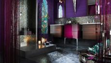 influences très orientales salle de bains